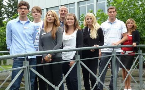Gruppenbild TANNER-Auszubildende 2011
