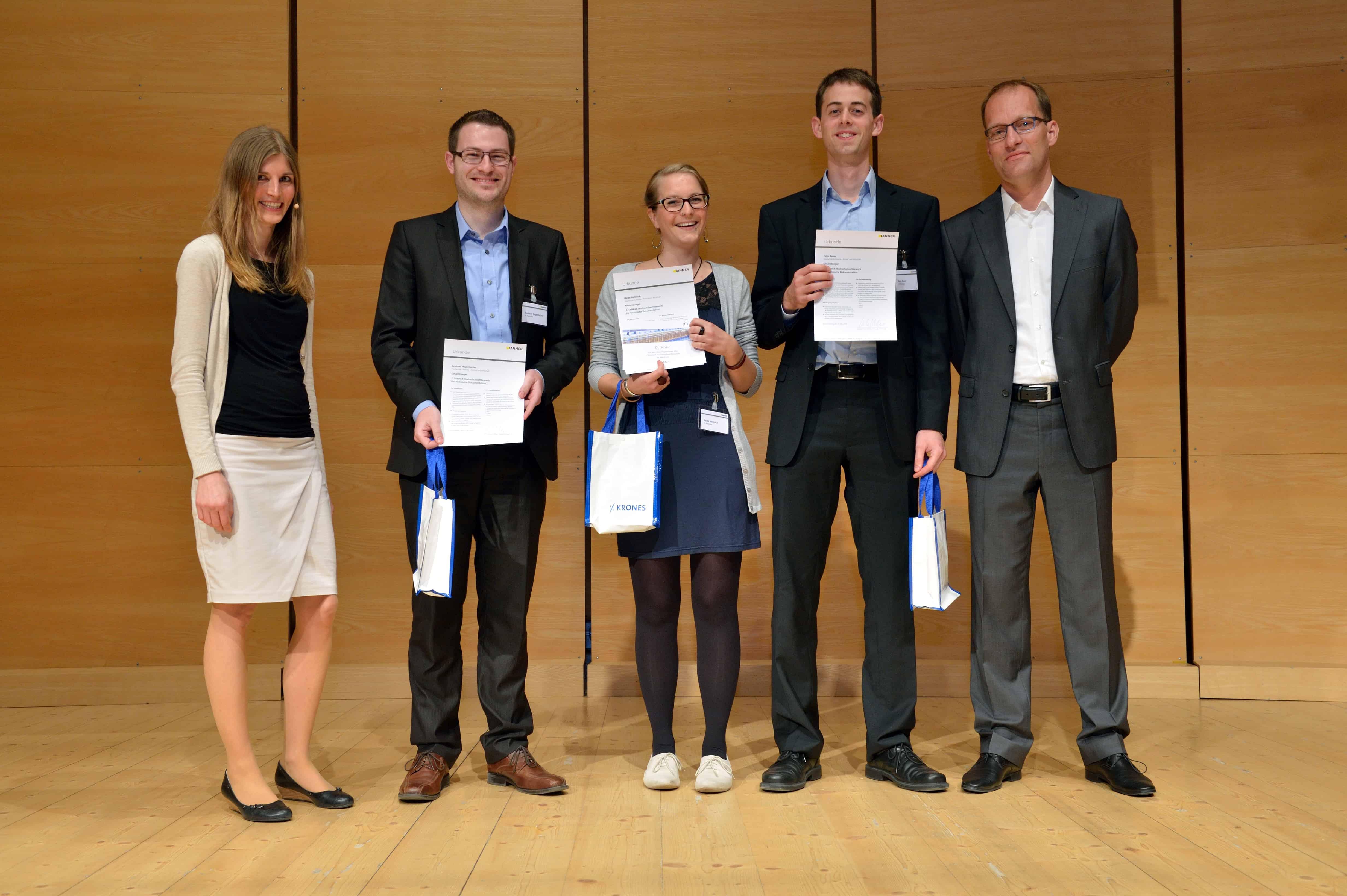 Gewinner-Team der Hochschule Karlsruhe