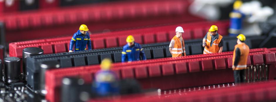 Detailbild Arbeiterfiguren