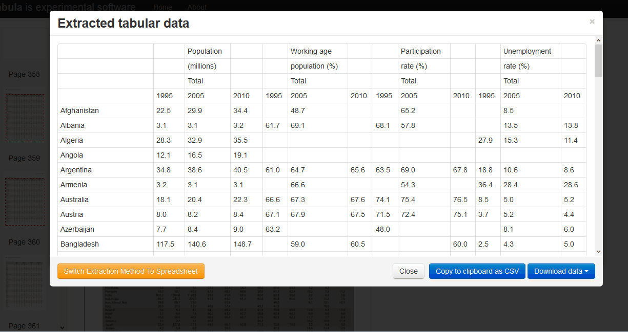 Grafik 5 Tabellen aus PDF-Dateien kopieren