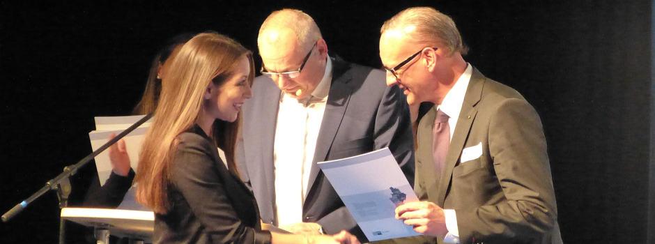 Olga Batjuschkin bei der IHK Auszeichnungsfeier 2015