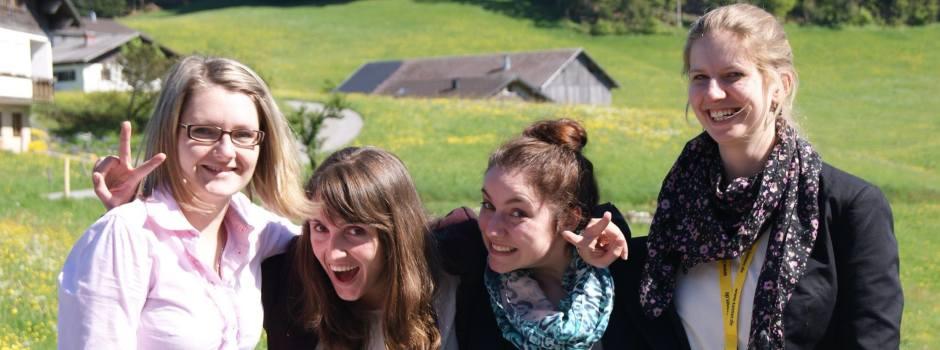 Gruppenfoto von Team Kilpert vom 9. TANNER-Hochschulwettbewerb