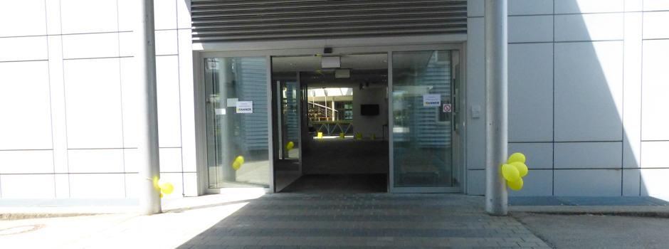 Eingang der TANNER Denkfabrik