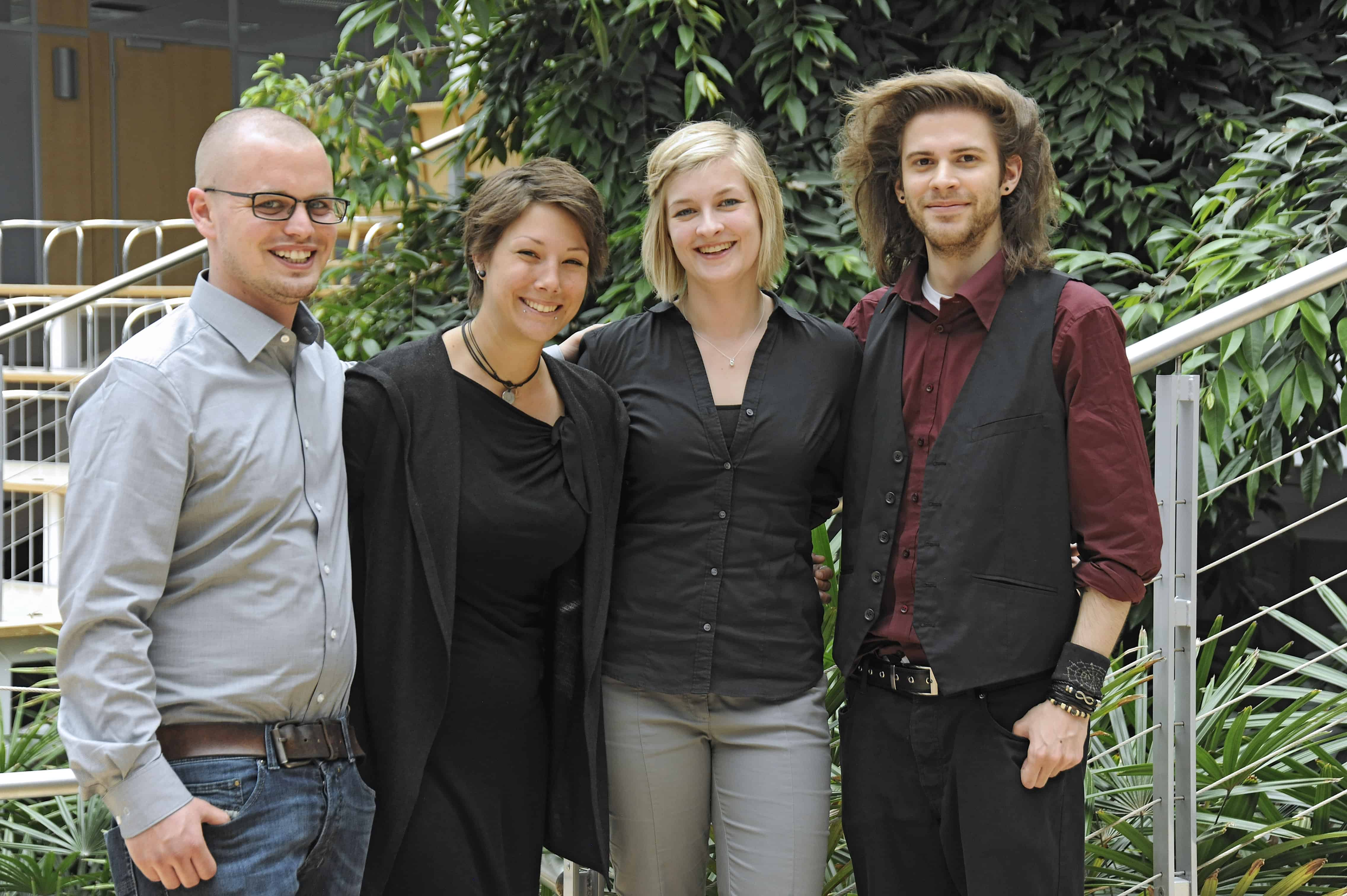 Gruppenbild Team der Hochschule Aalen