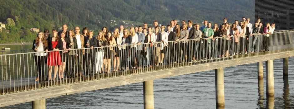Gruppenbild der Teilnehmer am 10. TANNER-Hochschulwettbewerb