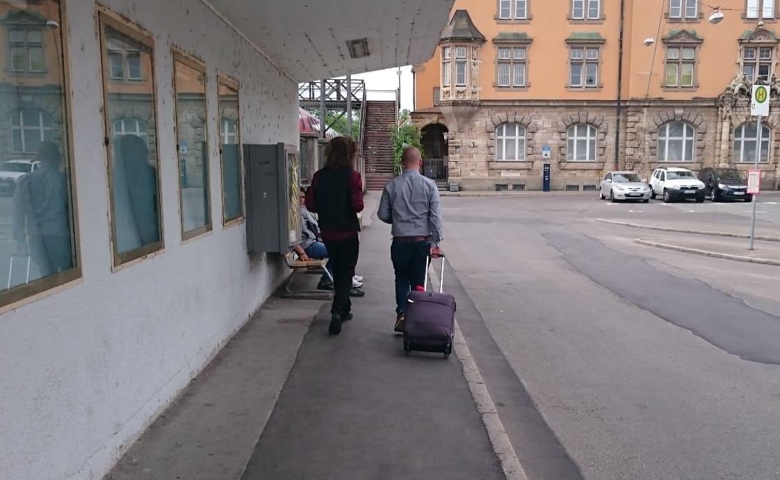 Ankunft in Lindau