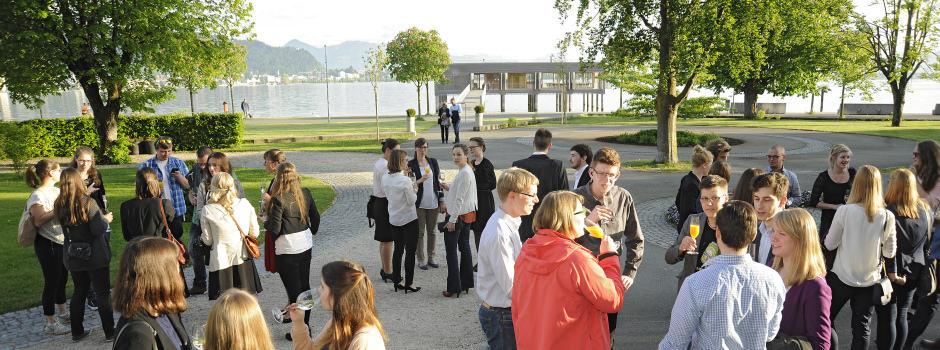 Empfang zum 10. TANNER-Hochschulwettbewerb am Seehotel Am Kaisertrand