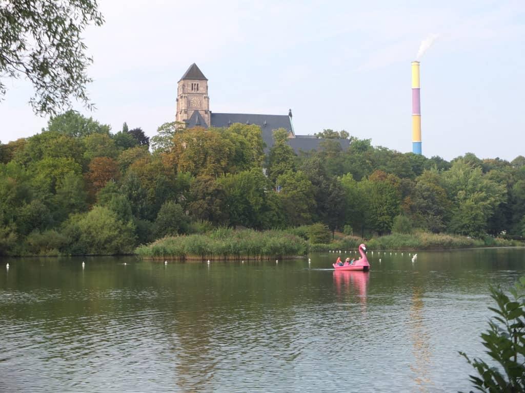 Schlossteich in Chemnitz