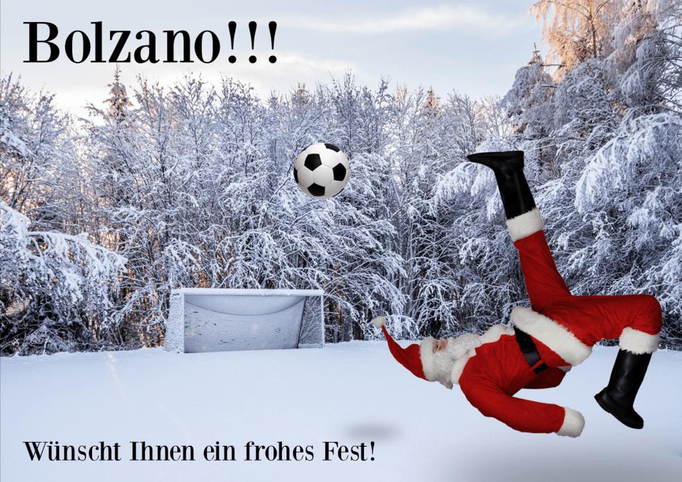 O Tannerbaum Weihnachtskarte Bolzano