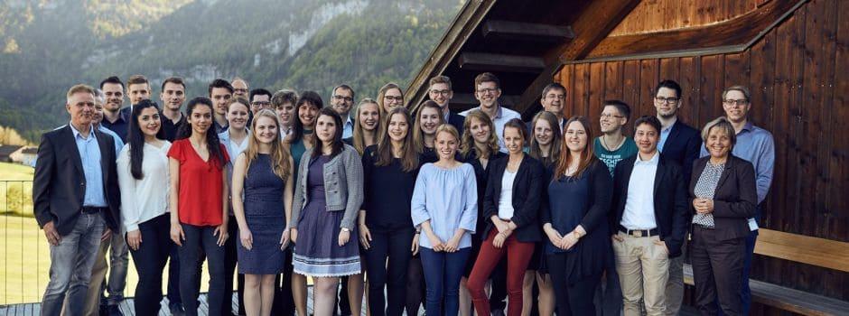 Gruppenbild der Teilnehmer des 11. TANNER-Hochschulwettbewerbs