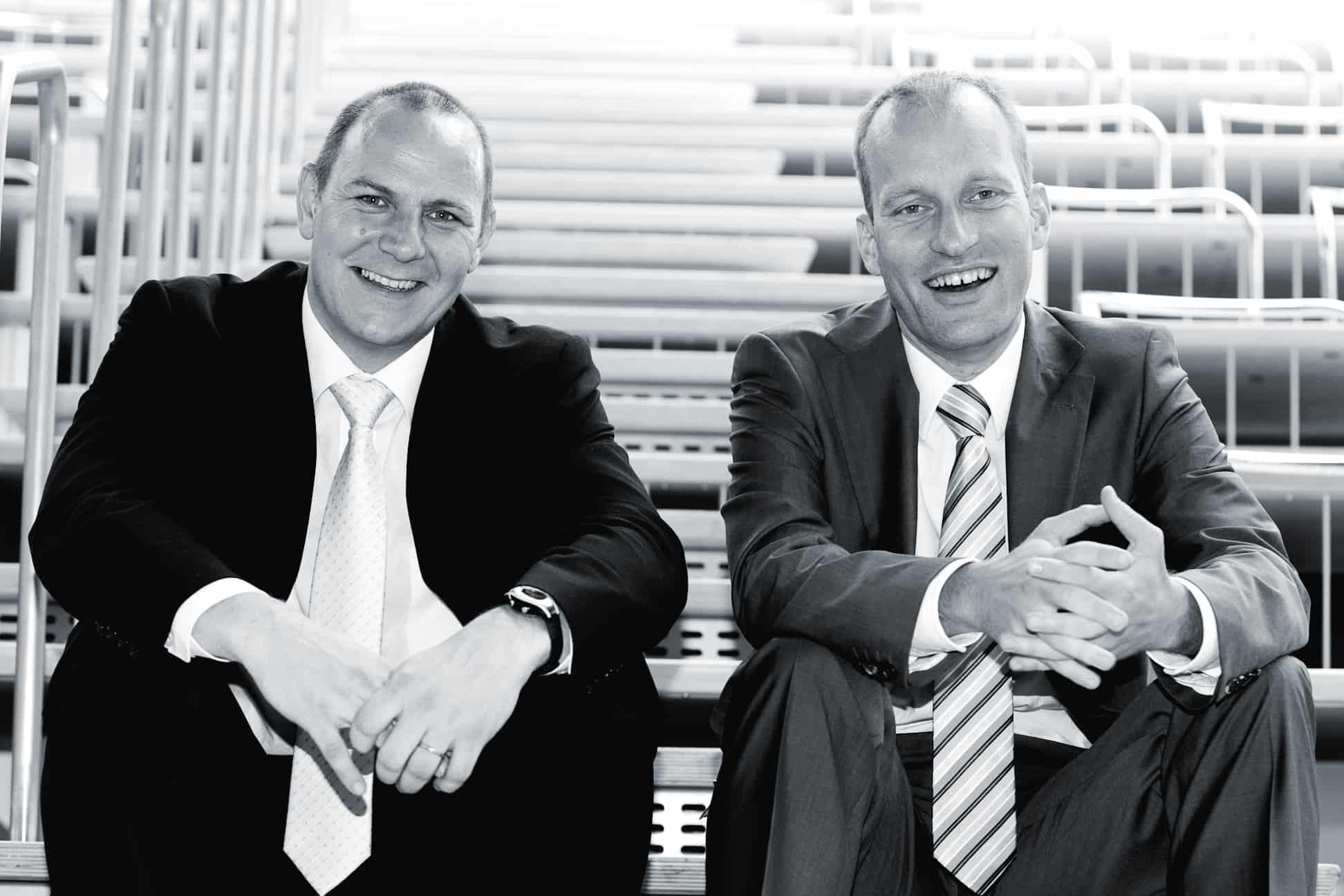 Foto Stefan Kügel und Georg-Friedrich Blocher