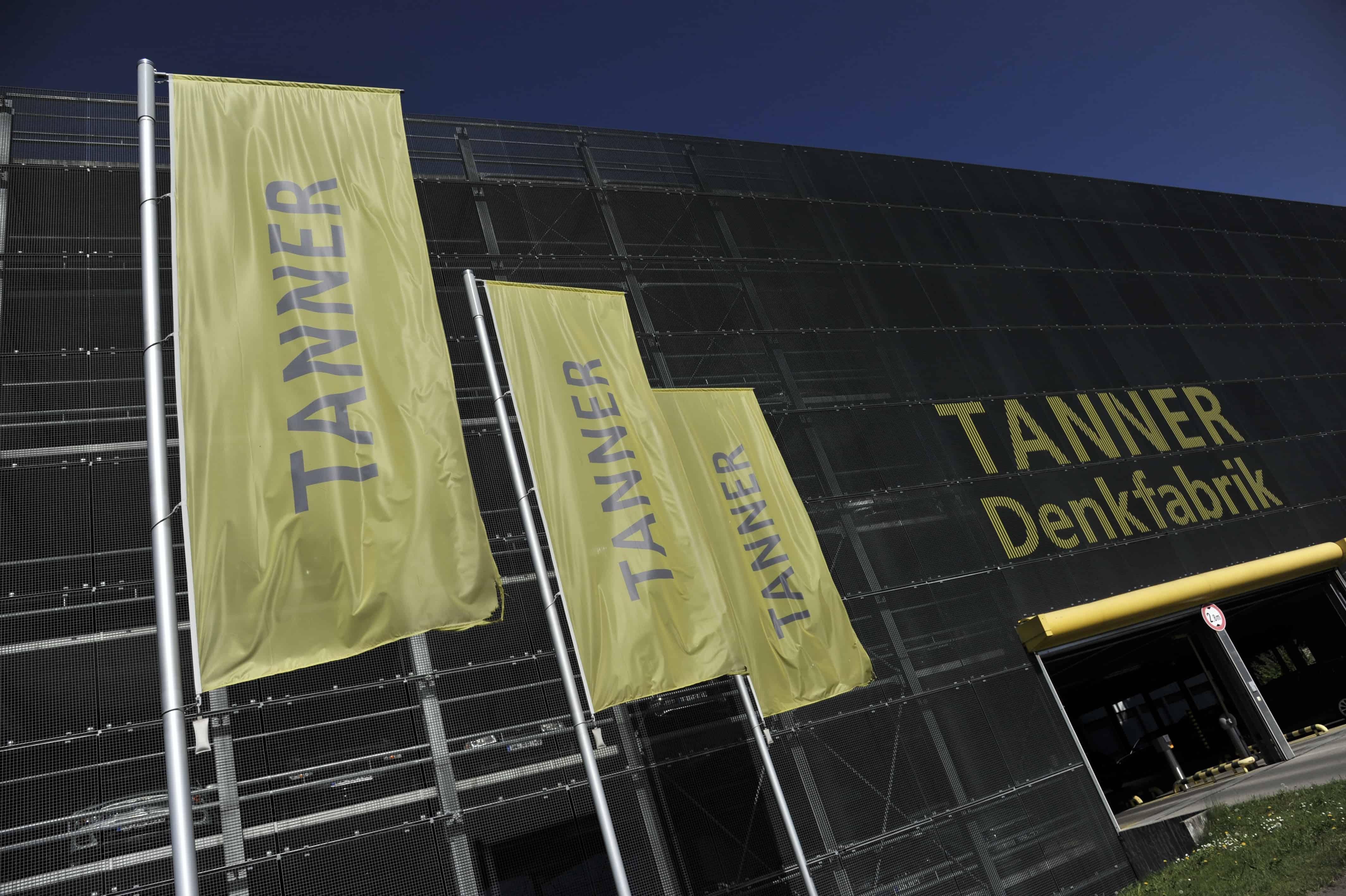 Außenaufnahme der TANNER Denkfabrik