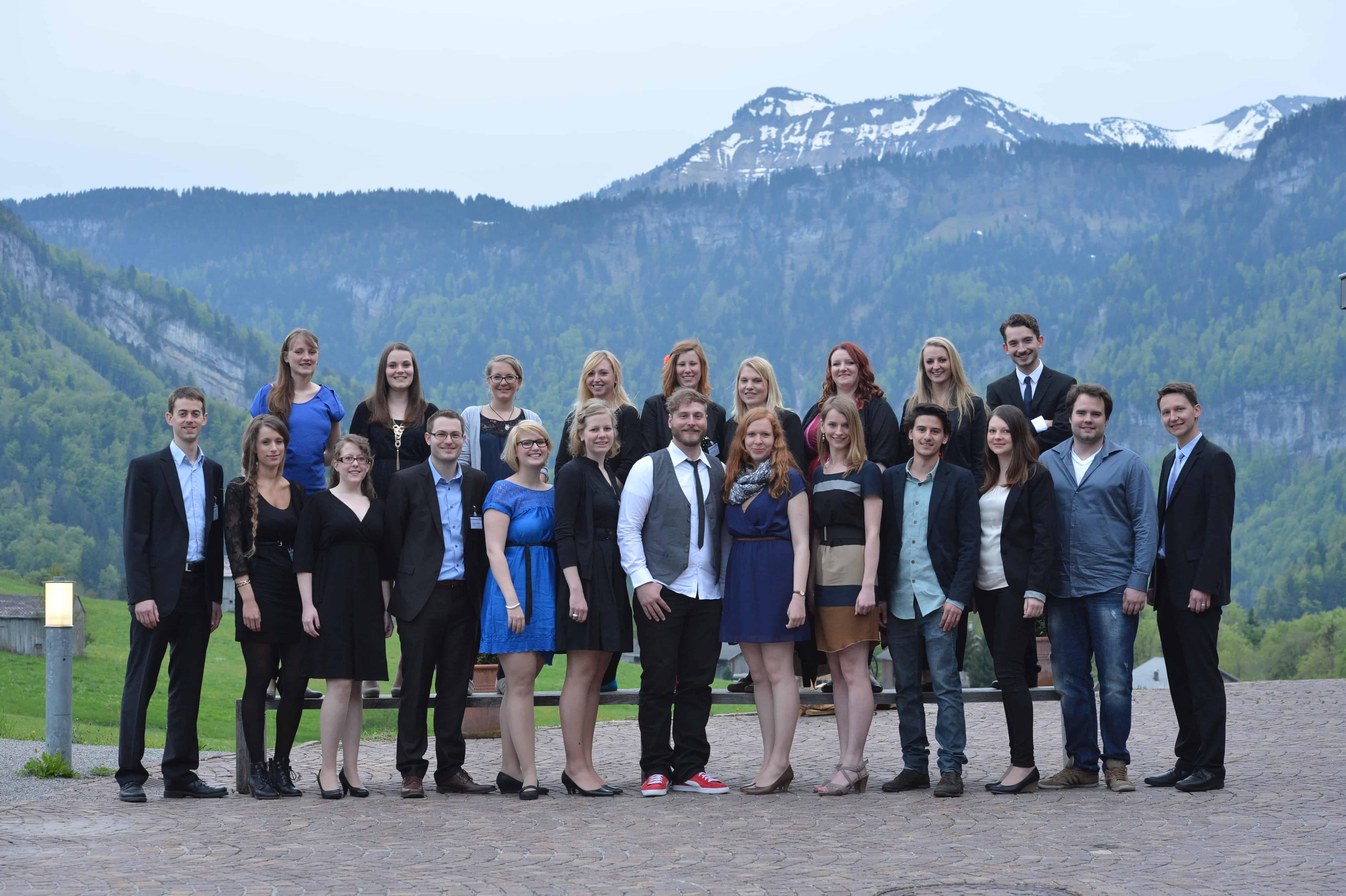 Gruppenbild der Teilnehmer des 7. TANNER-Hochschulwettbewerbs