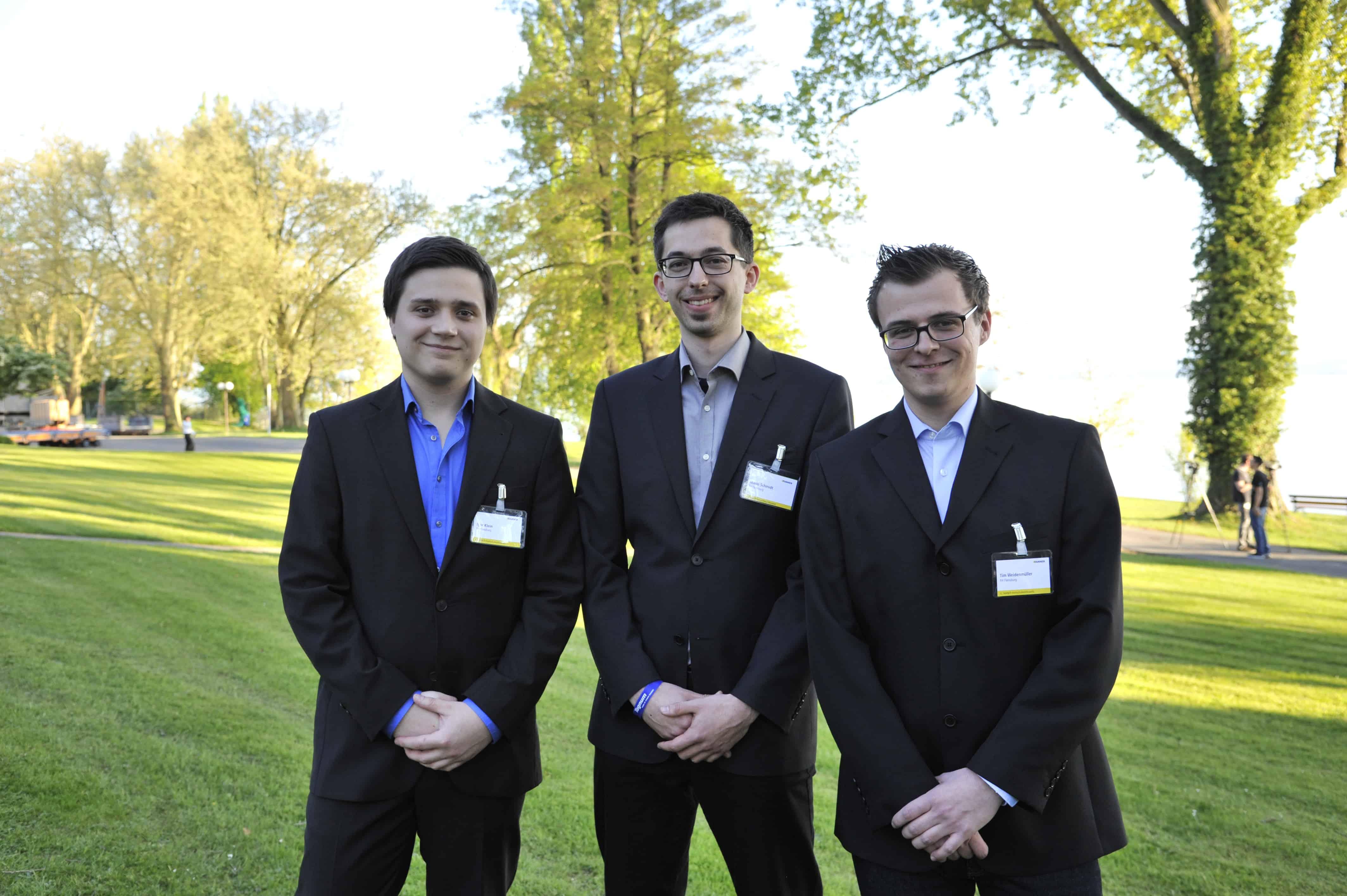 TANNER Hochschulwettbewerb Team Schmidt