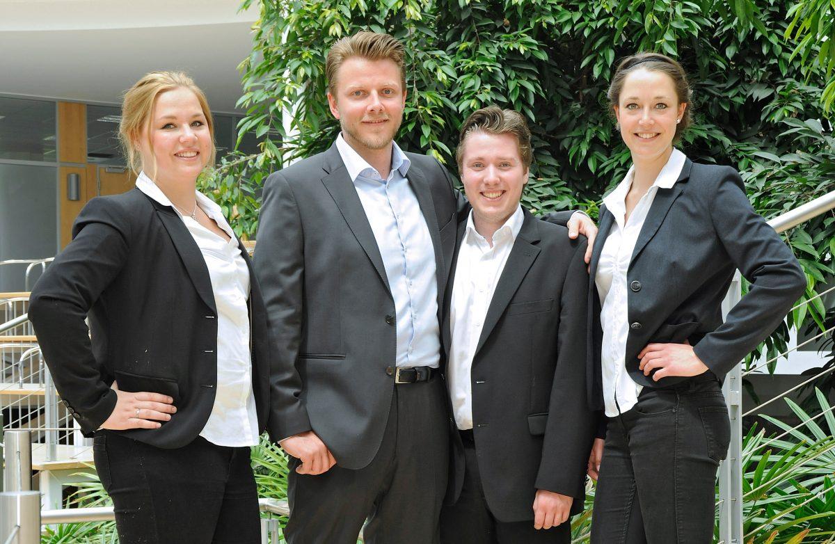 TANNER Hochschulwettbewerb Team Johannpeter