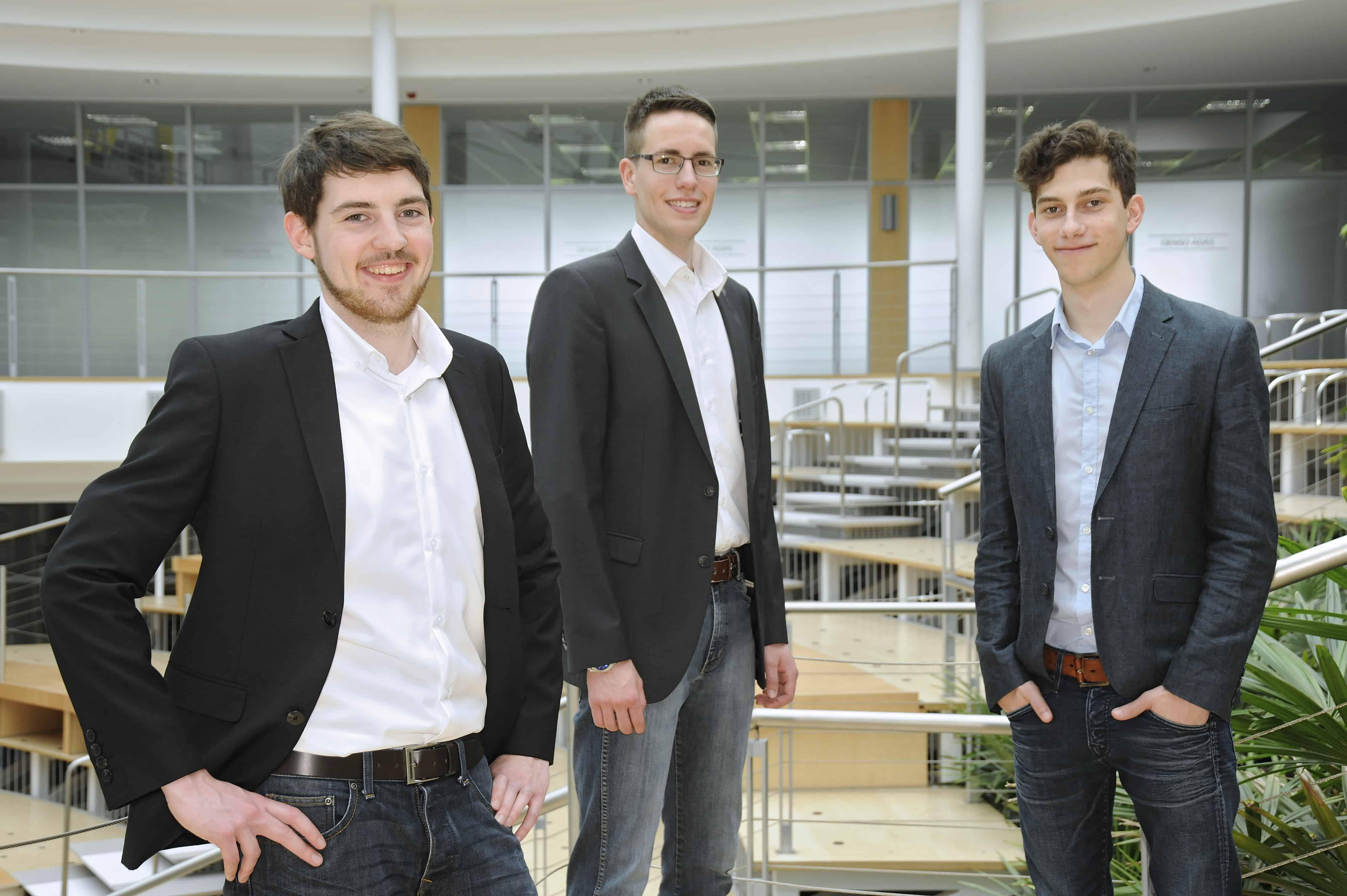 Team Meier vom 10. TANNER-Hochschulwettbewerb