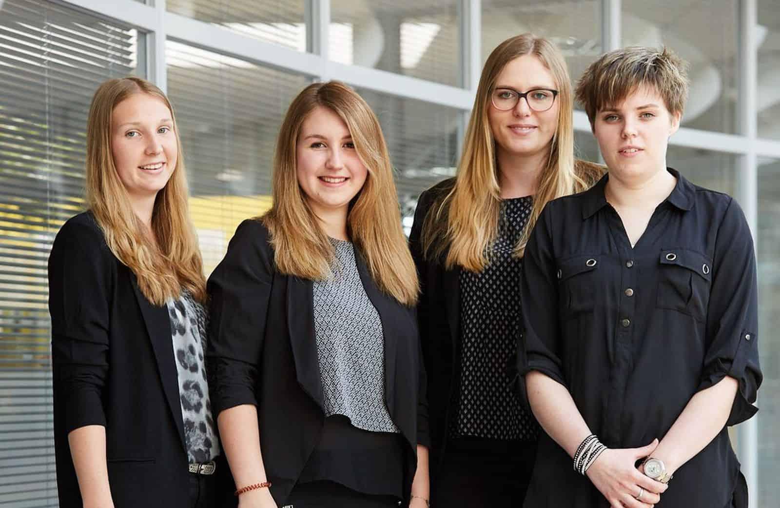 Team Schnall vom 11. TANNER-Hochschulwettbewerb