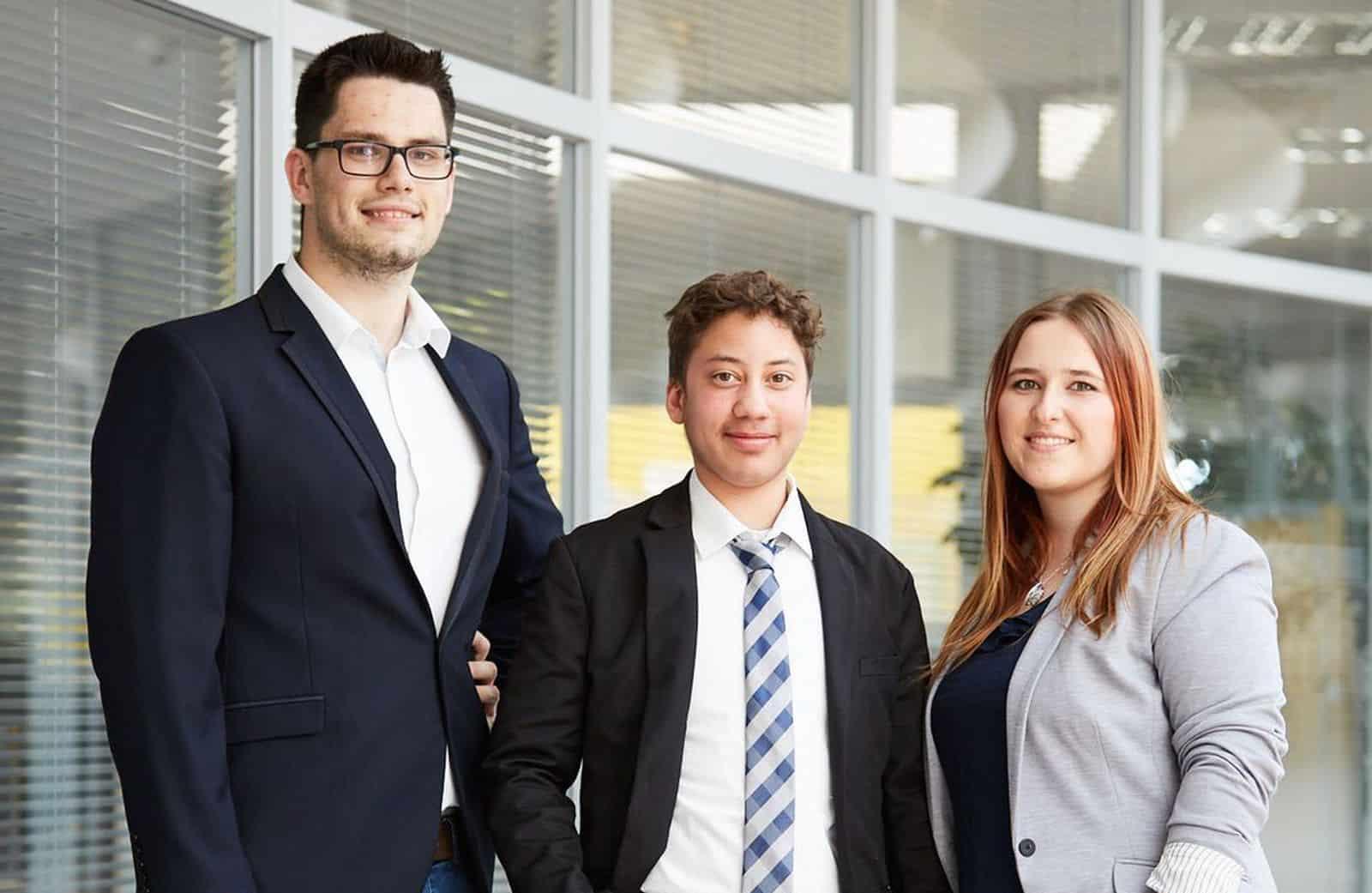 Team Preussner vom 11. TANNER-Hochschulwettbewerb