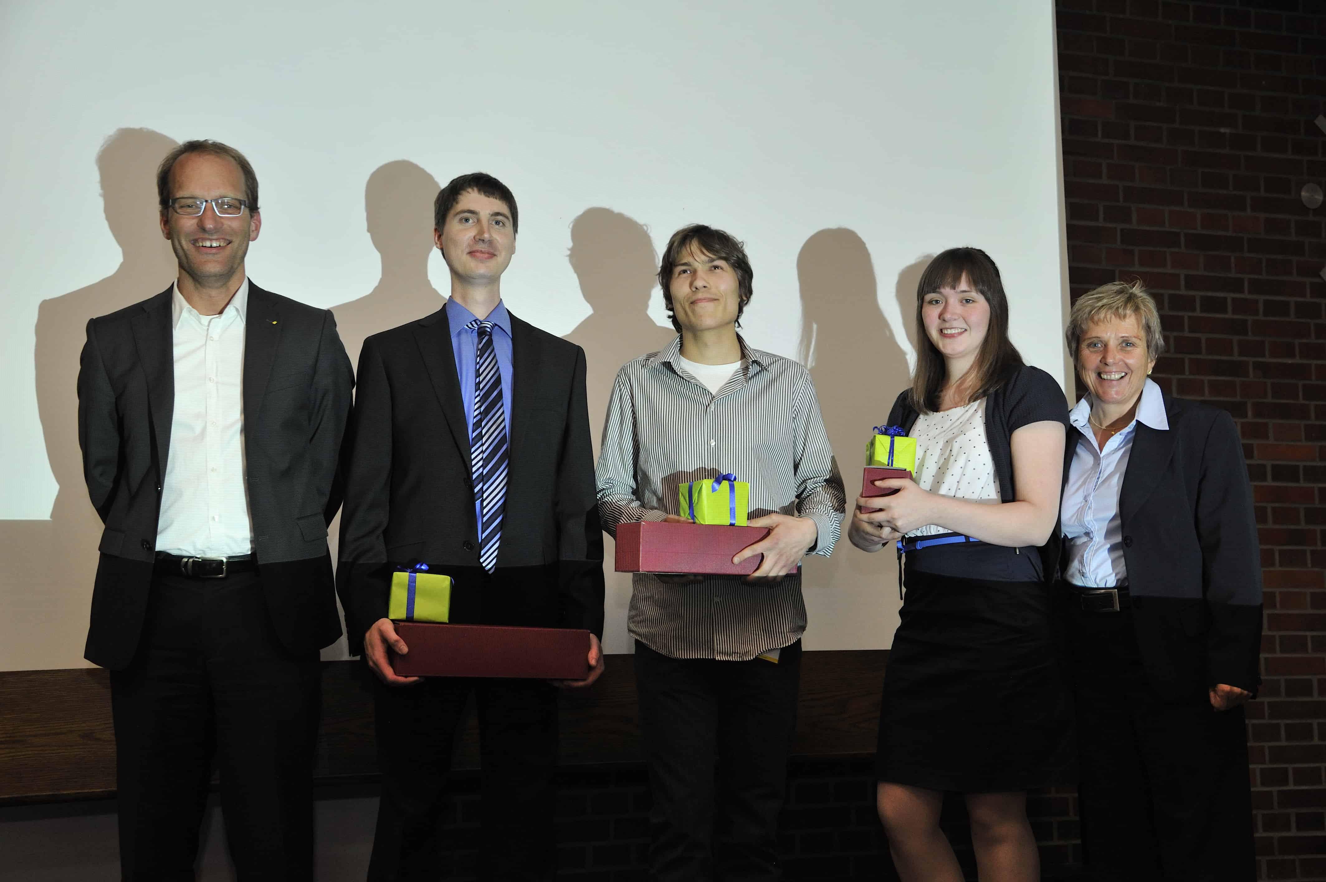 Impressionen von der Preisverleihung des 6. TANNER-Hochschulwettbewerbs