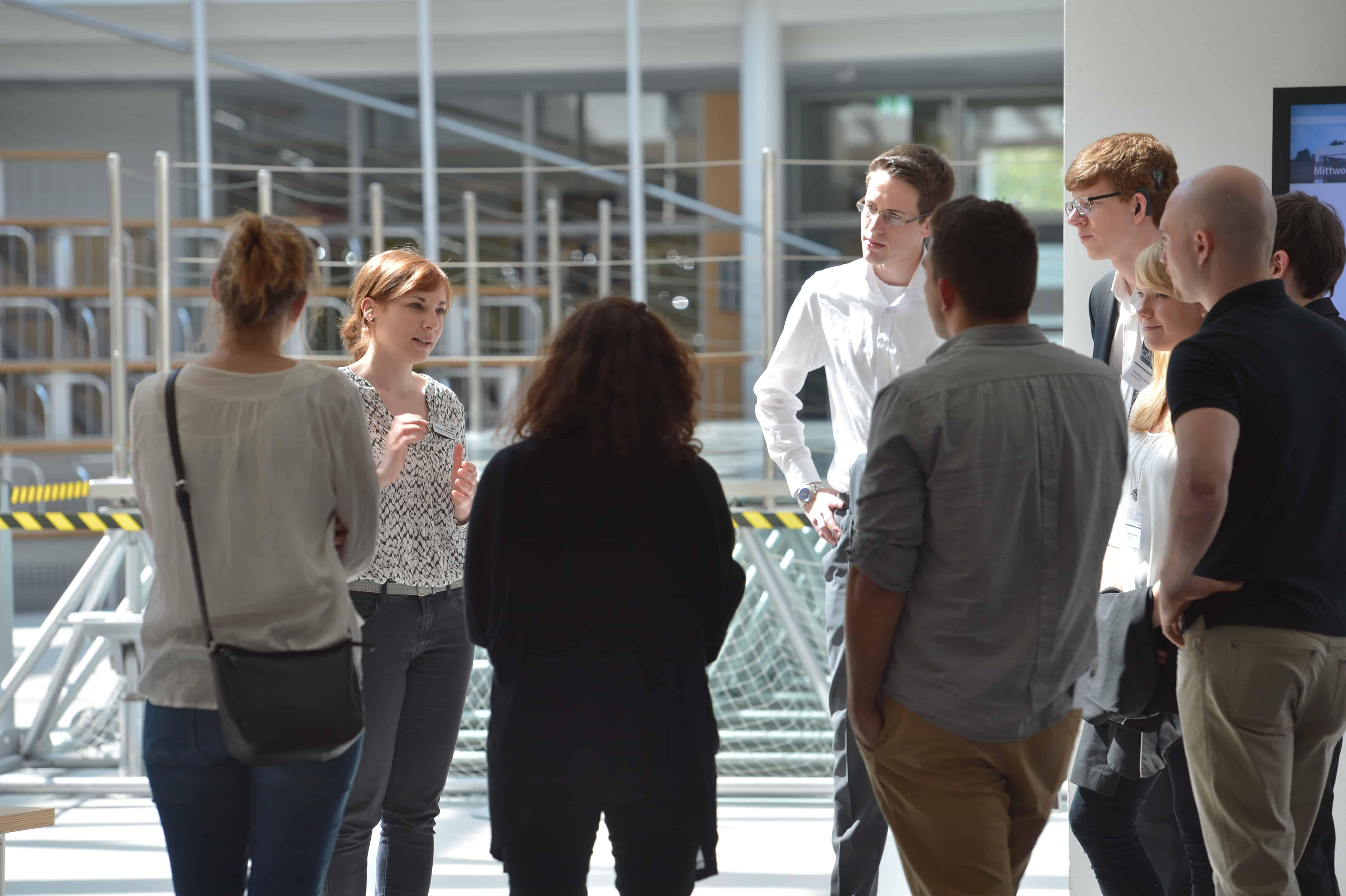 Impressionen von der Jurysitzung des 9. TANNER-Hochschulwettbewerbs