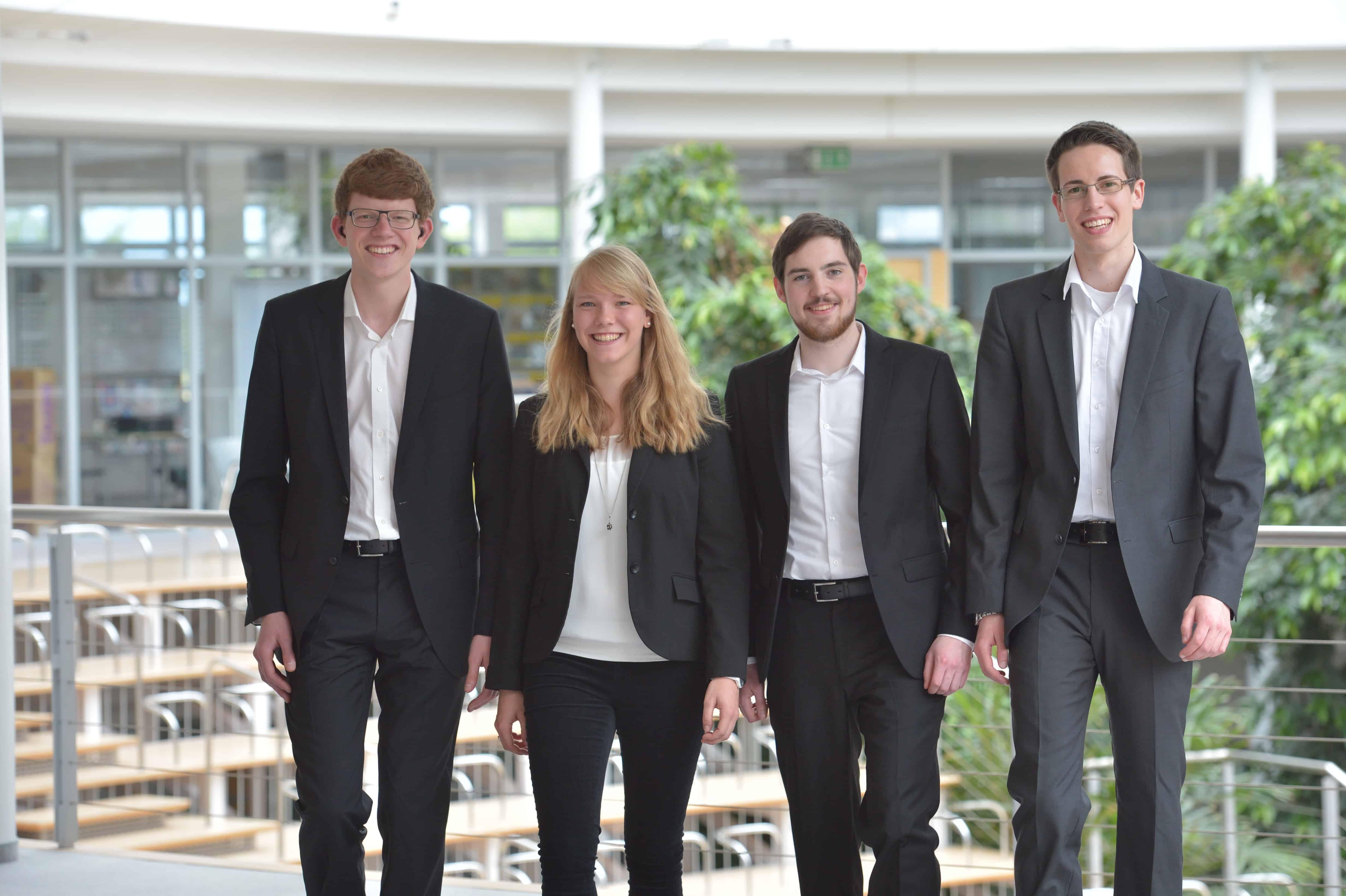 TANNER Hochschulwettbewerb Team Maier