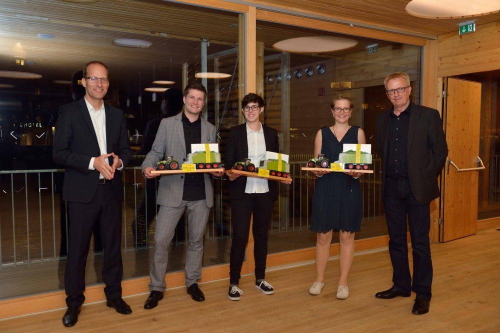 Team Schneider bei der Preisverleihung des 8. TANNER-Hochschulwettbewerbs