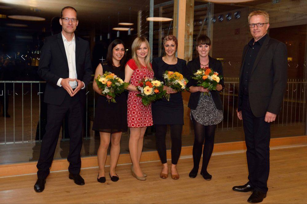Team Westhoff bei der Preisverleihung des 8. TANNER-Hochschulwettbewerbs