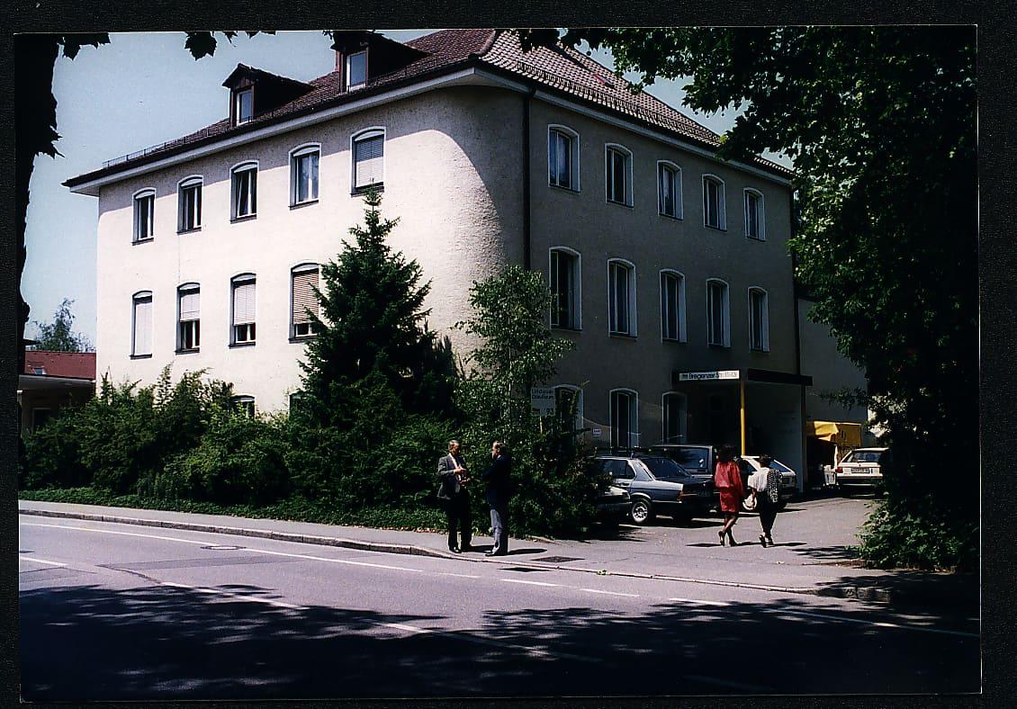 Umzug von TANNER in das Haus in der Bregenzer Straße in Lindau