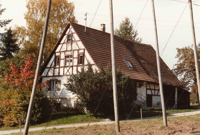 Haus in Elmenau in dem TANNER gegründet wurde