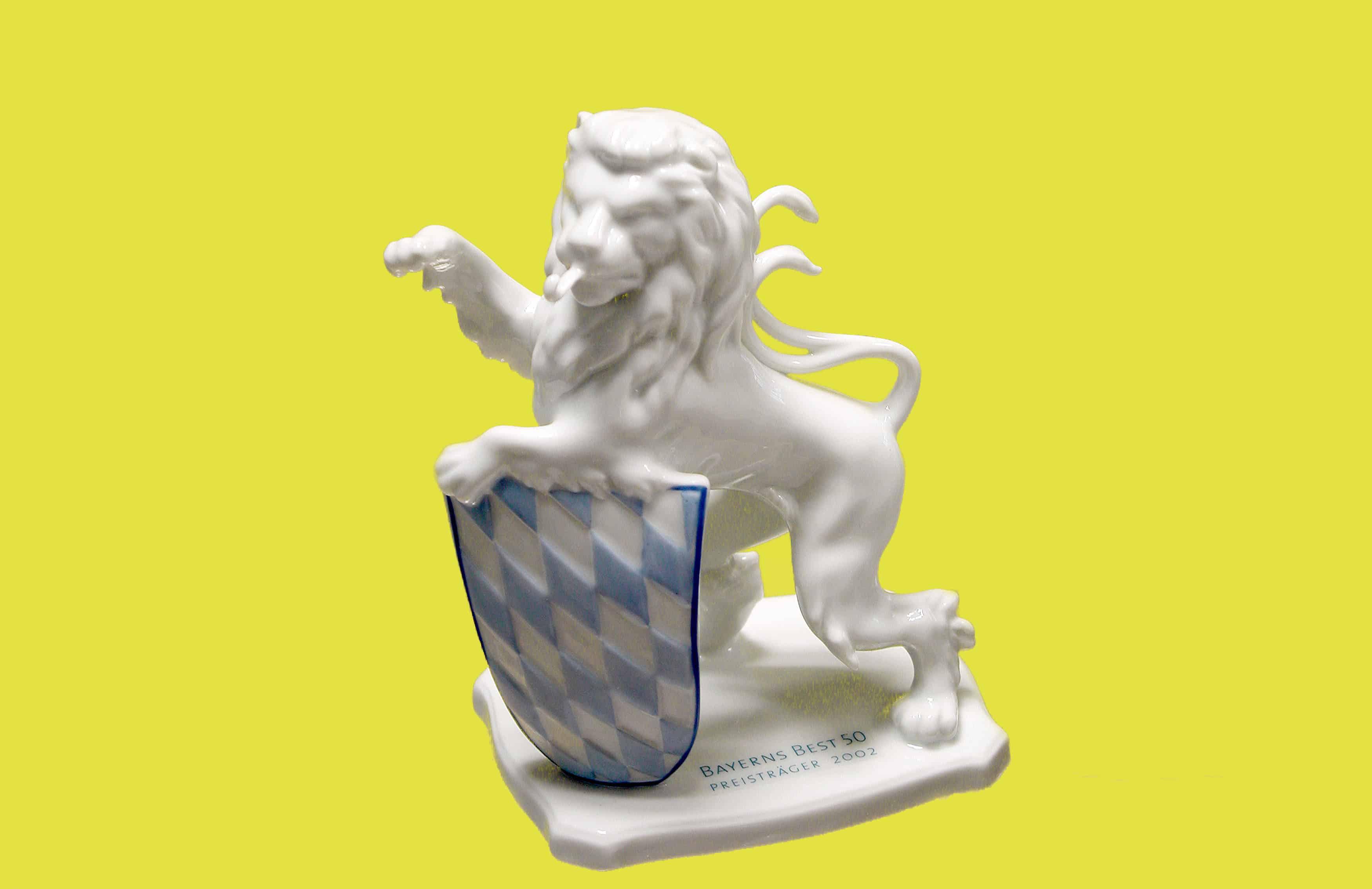 Figur Bayrischer Löwe
