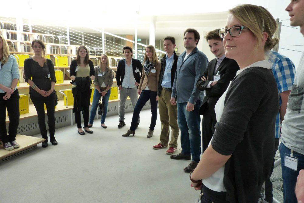 Impressionen von der Jurysitzung des 7. TANNER-Hochschulwettbewerbs