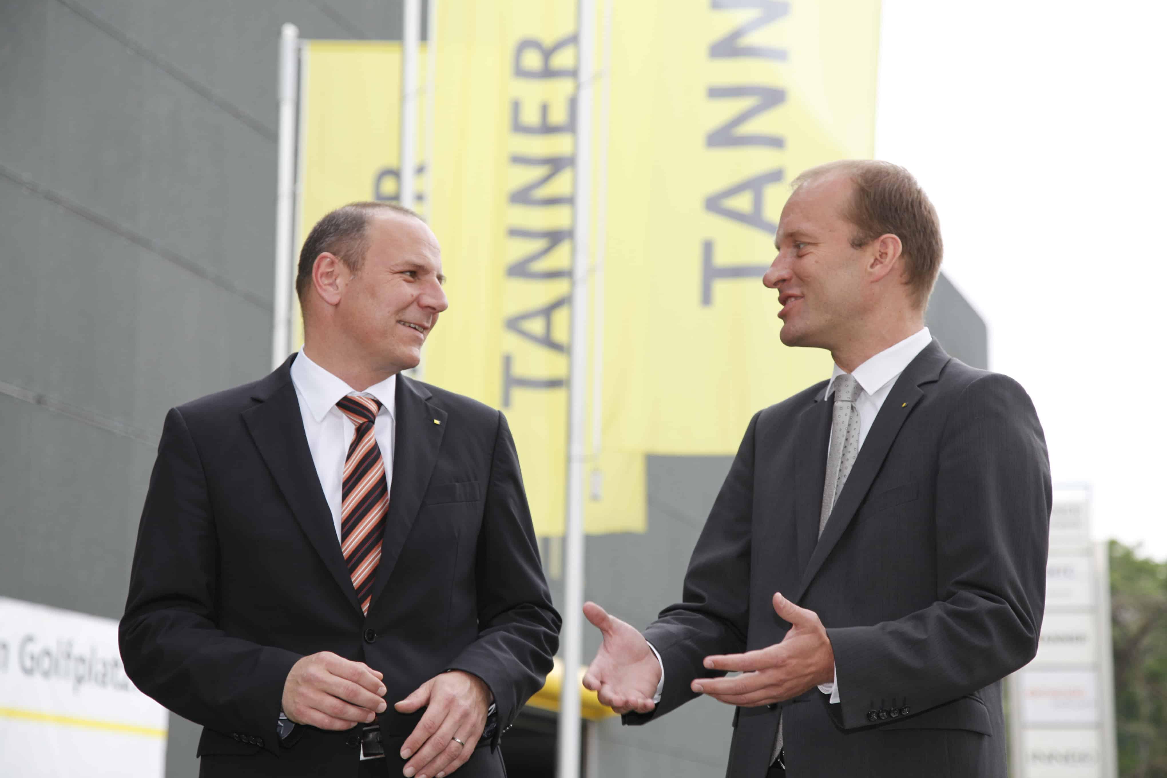 Stefan Kügel und Georg-Friedrich Blocher