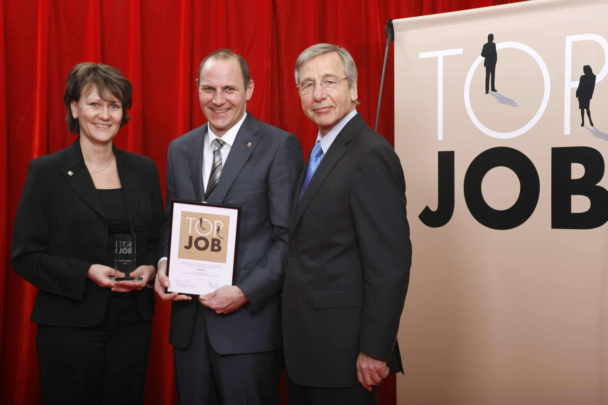 2007 erhält TANNER die Top Job Auszeichnung