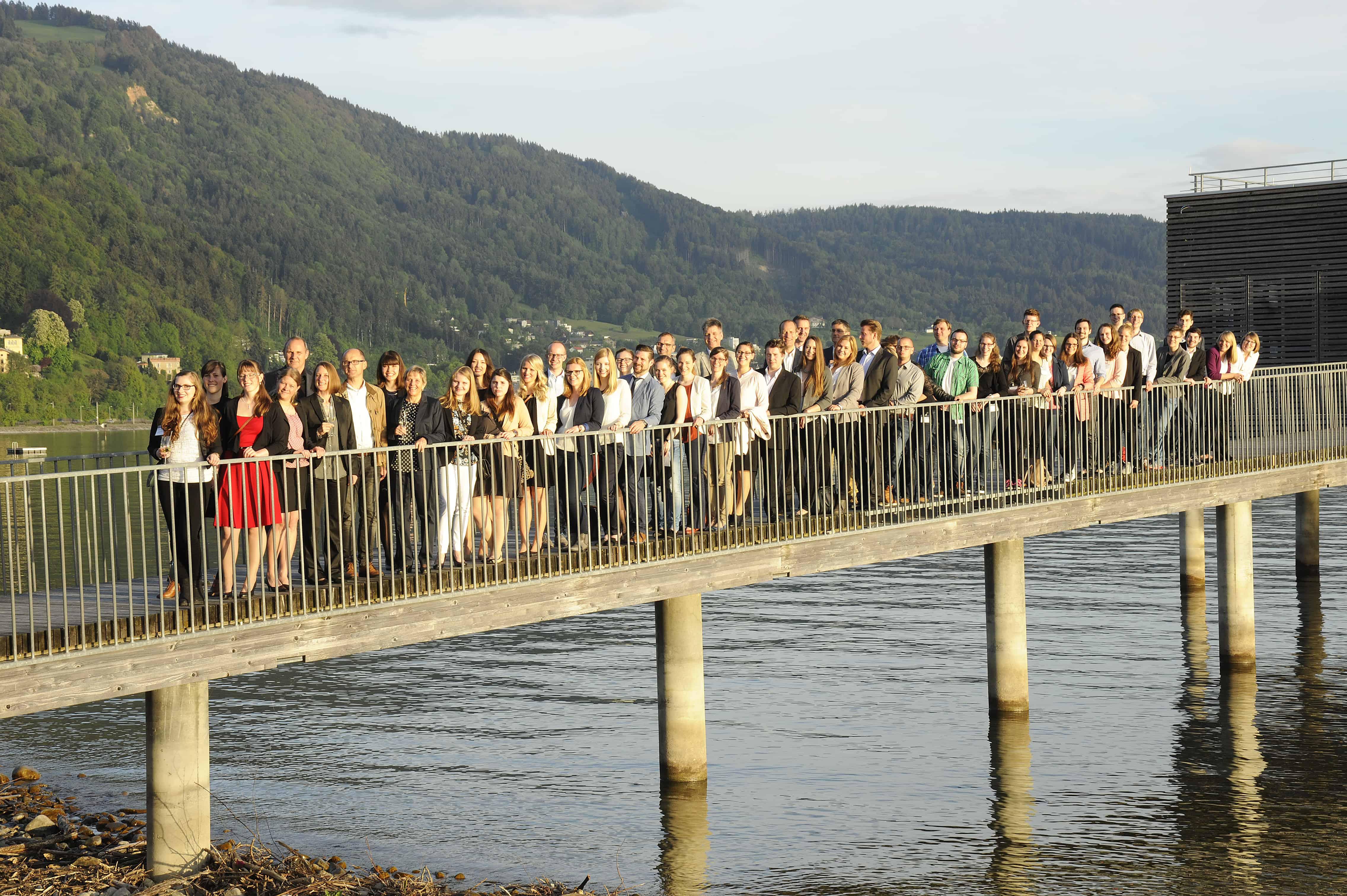 Gruppenbild der Teilnehmer des 10. TANNER-Hochschulwettbewerbs