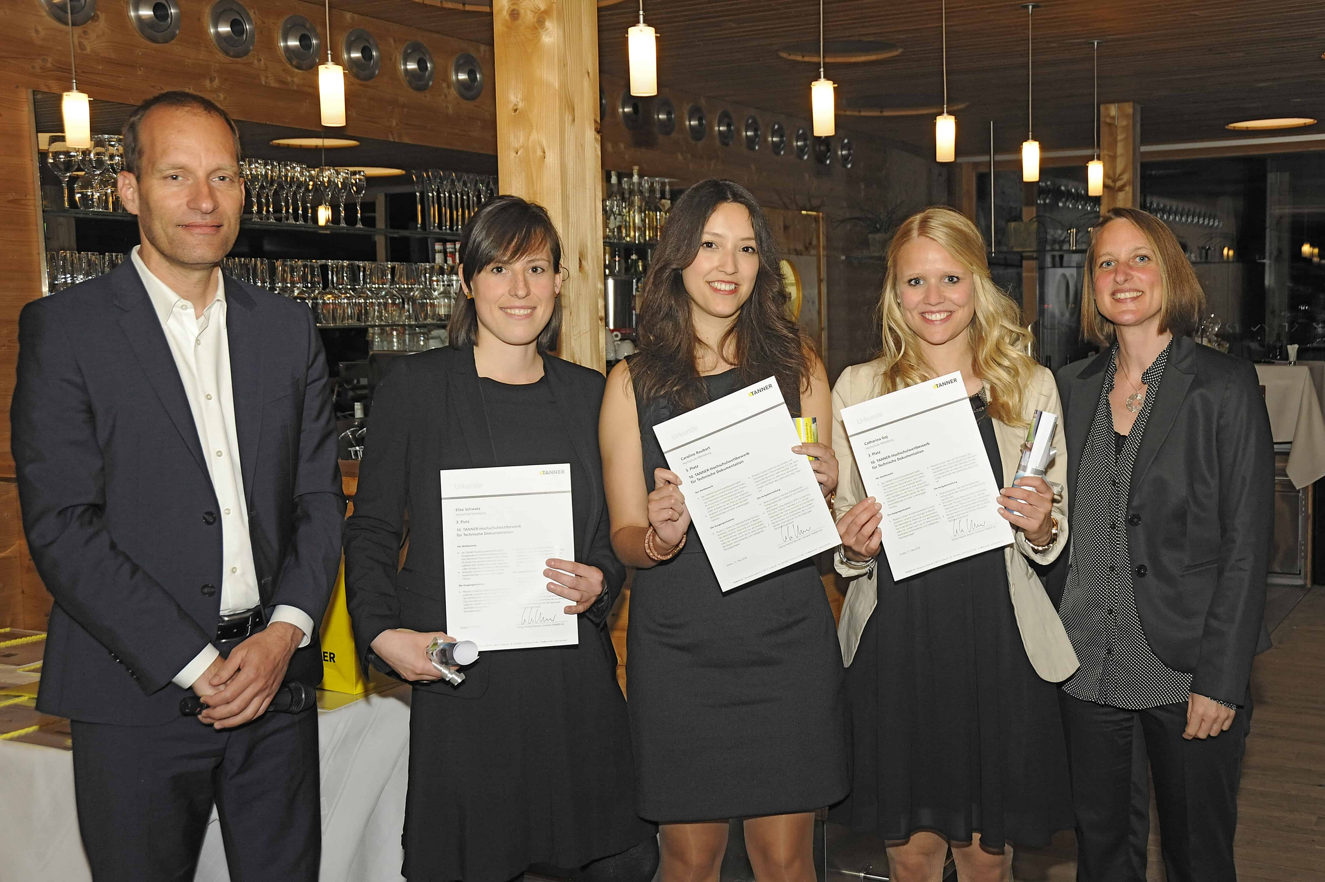 Team Goj vom 10. TANNER-Hochschulwettbewerb