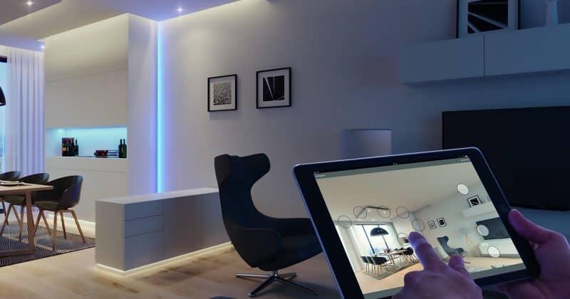 12. TANNER-Hochschulwettbewerb - Keyvisual Häfele GmbH & Co KG Lichtsteuerung mit Tablet