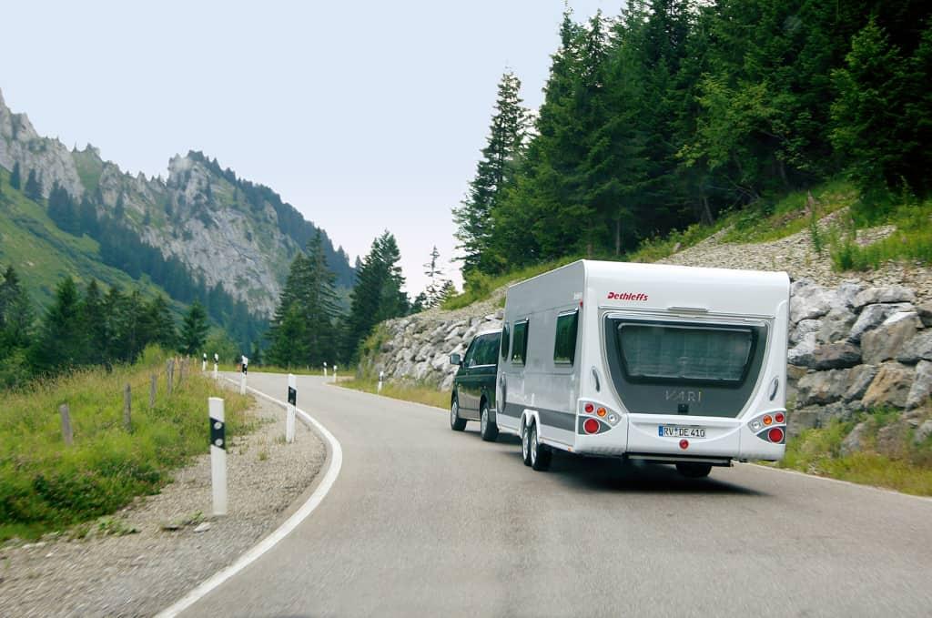 4. TANNER-Hochschulwettbewerb - Keyvisual Dethleffs Wohnwagen