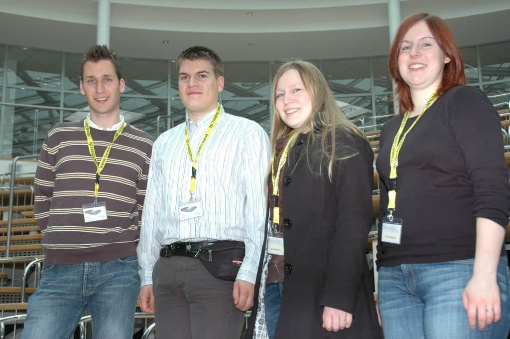 Team der Hochschule Hannover beim 2. TANNER-Hochschulwettbewerb