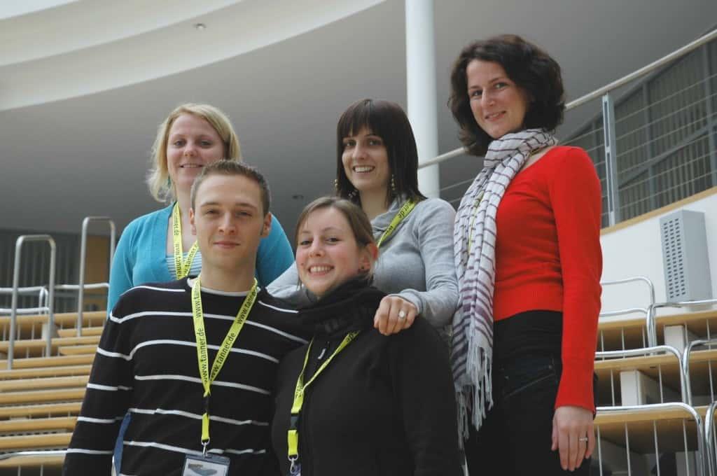 Team 2 der Hochschule Karlsruhe beim 2. TANNER-Hochschulwettbewerb