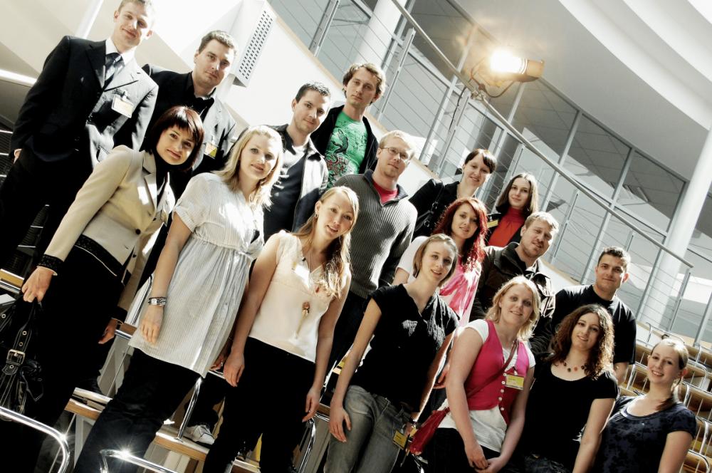 Gruppenfoto beim 3. TANNER-Hochschulwettbewerb