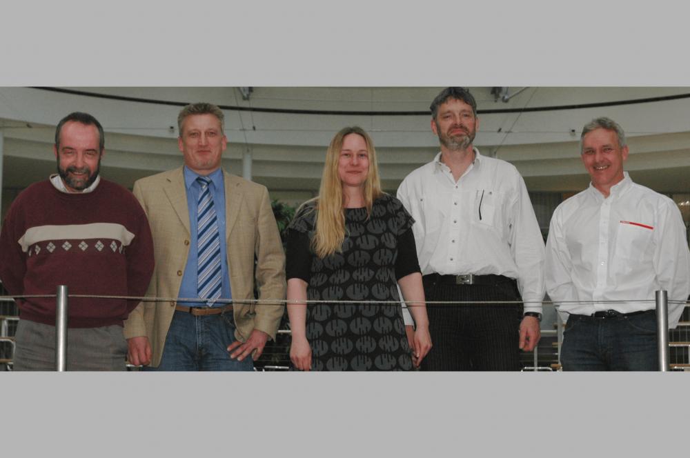 Jury des 3. TANNER-Hochschulwettbewerbs