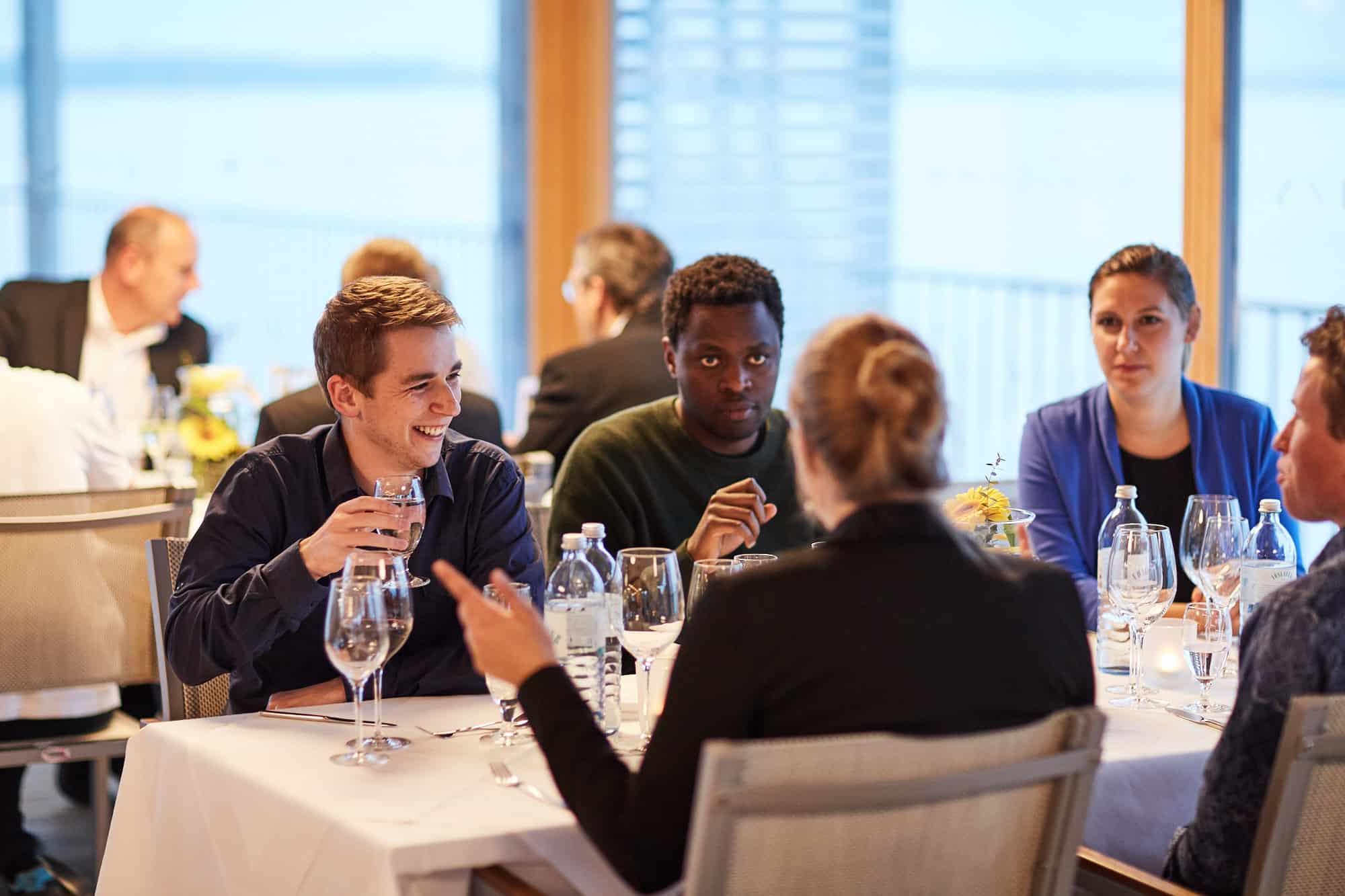 Impressionen von der Preisverleihung des 12. TANNER-Hochschulwettbewerbs