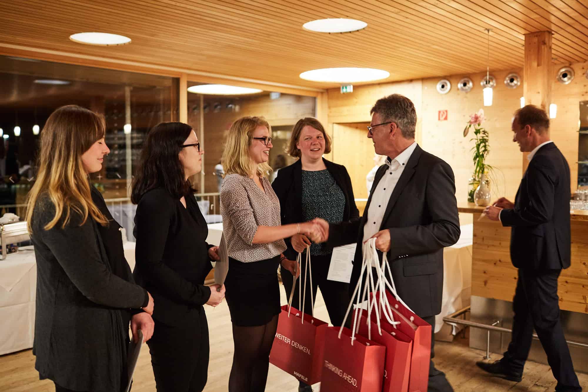 Team Kerchnawe bei der Preisverleihung des 12. TANNER-Hochschulwettbewerbs