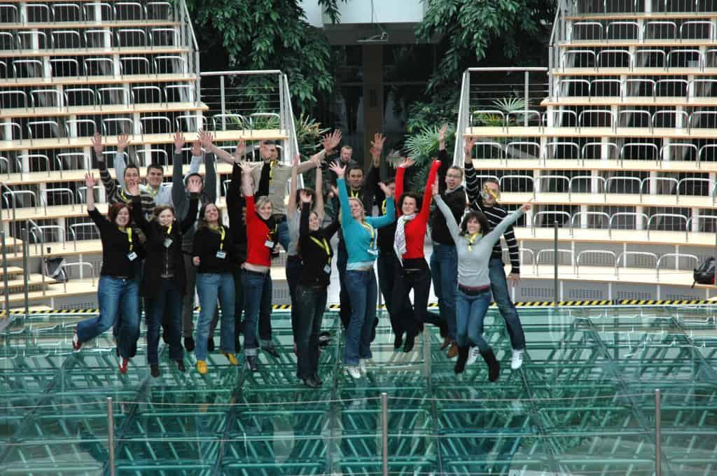Gruppenfoto der Studierenden beim 2. TANNER-Hochschulwettbewerb