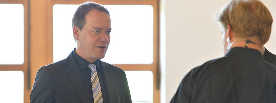 Sven Bergert beim oku-Forum 2015