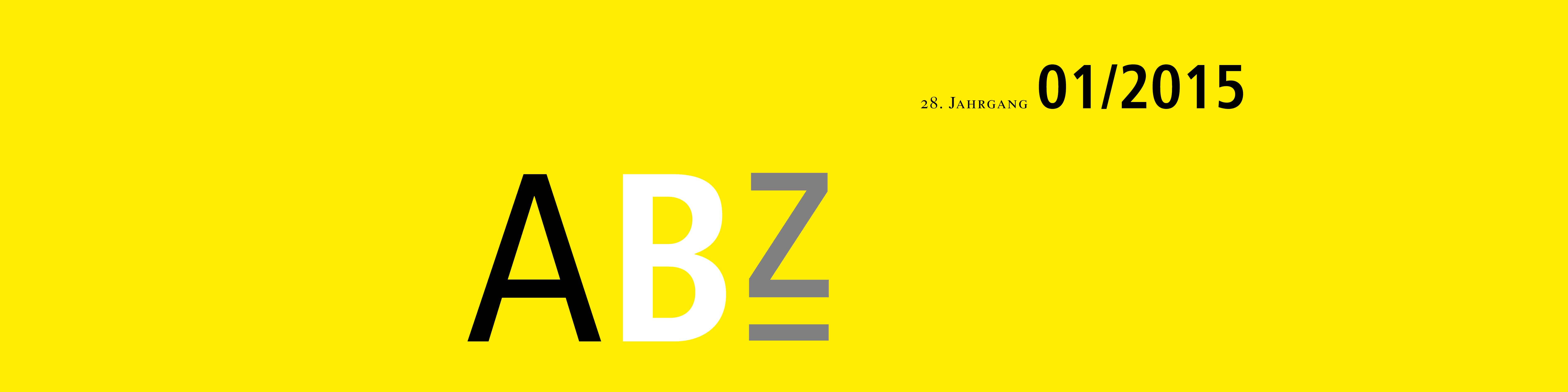 ABZ TANNER Zeitschrift Header 01/2015