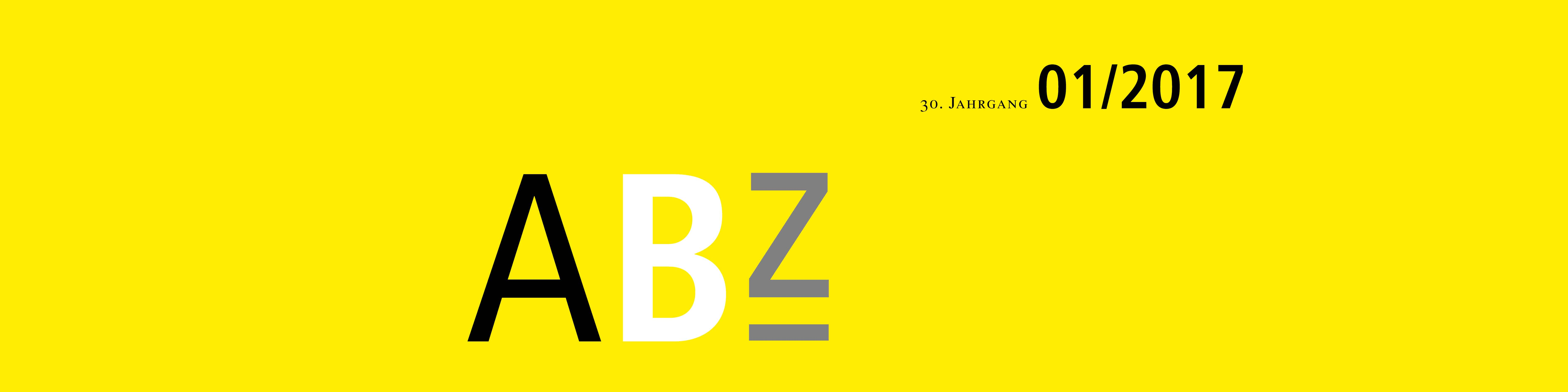 ABZ TANNER Zeitschrift Header 01/2017