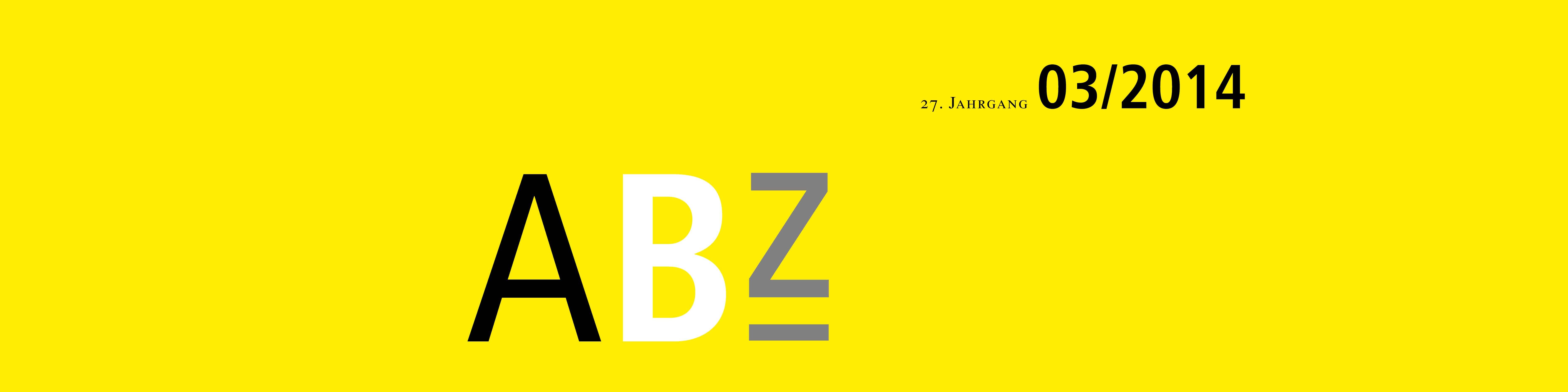 ABZ TANNER Zeitschrift Header 03/2014