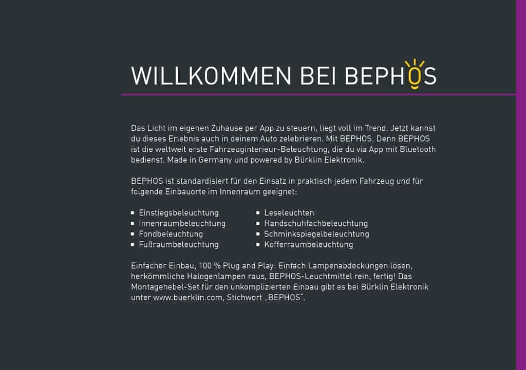 TANNER Kampagne für Bephos Produktbroschüre 3
