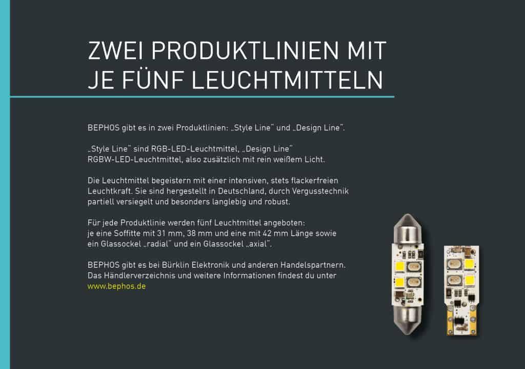 TANNER Kampagne für Bephos Produktbroschüre 4